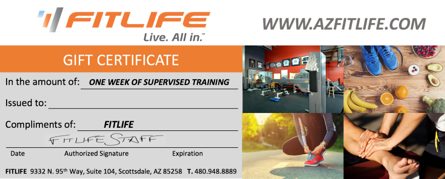 FITLIFE Gift Certificate