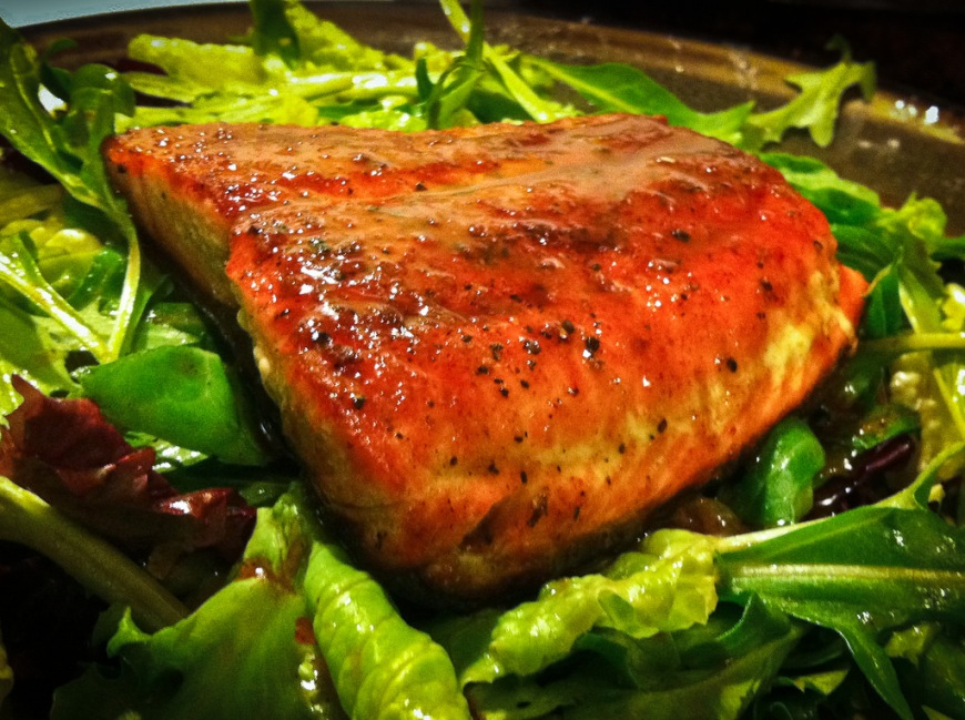 Citrus Glazed Salmon
