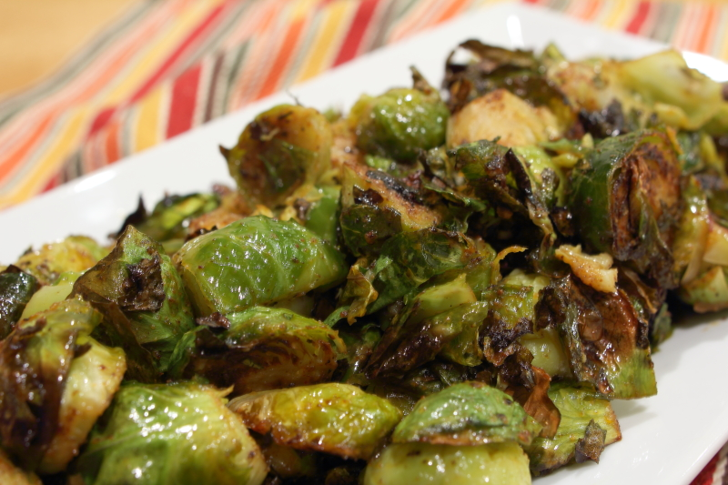 PaeloCharmed Brussel Sprouts