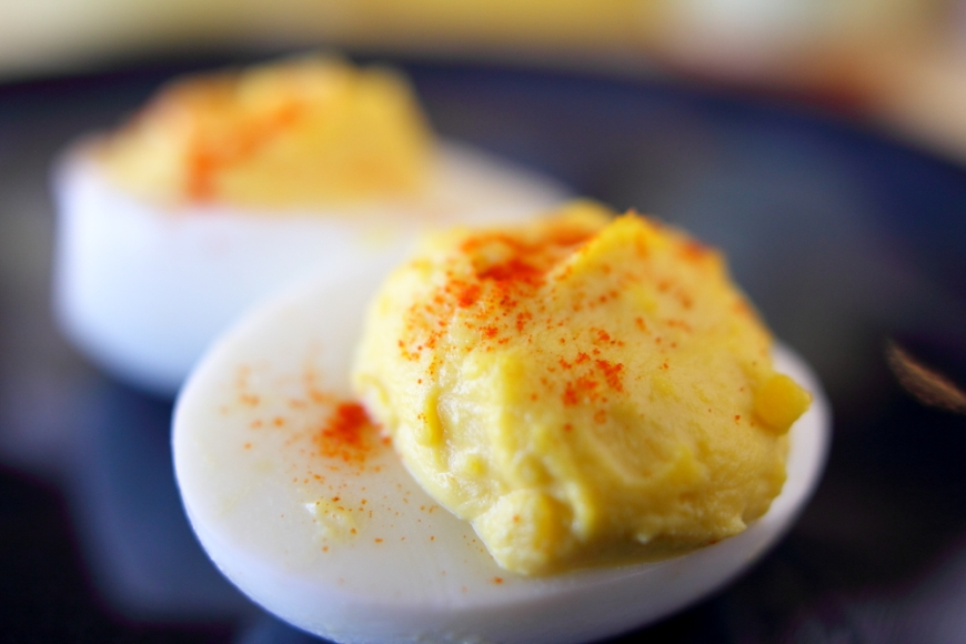 PaleoCharmed Classic Deviled Eggs