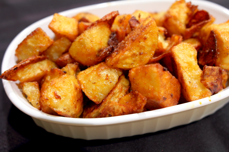 PaleoCharmed Paprika Potatoes