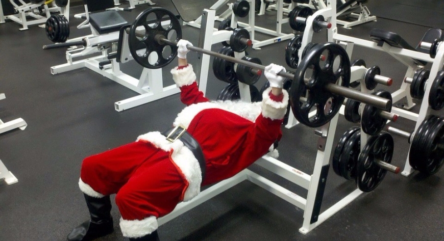 Santa Claus Christmas Workout