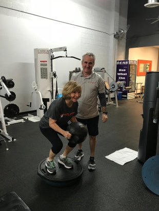 83 year old female trains at FITLIFE