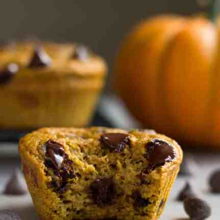 Pumpkin-Chocolate-Chip-Protein-Muffins-7