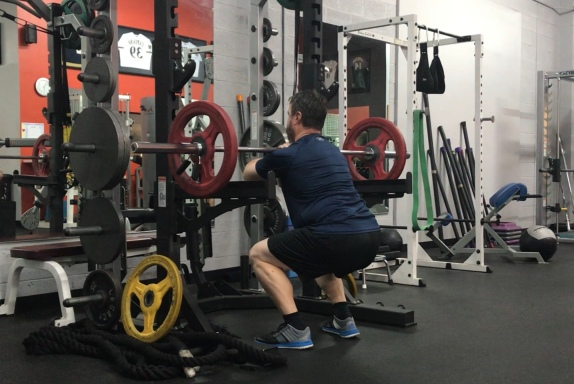 Front Squats at FITLIFE
